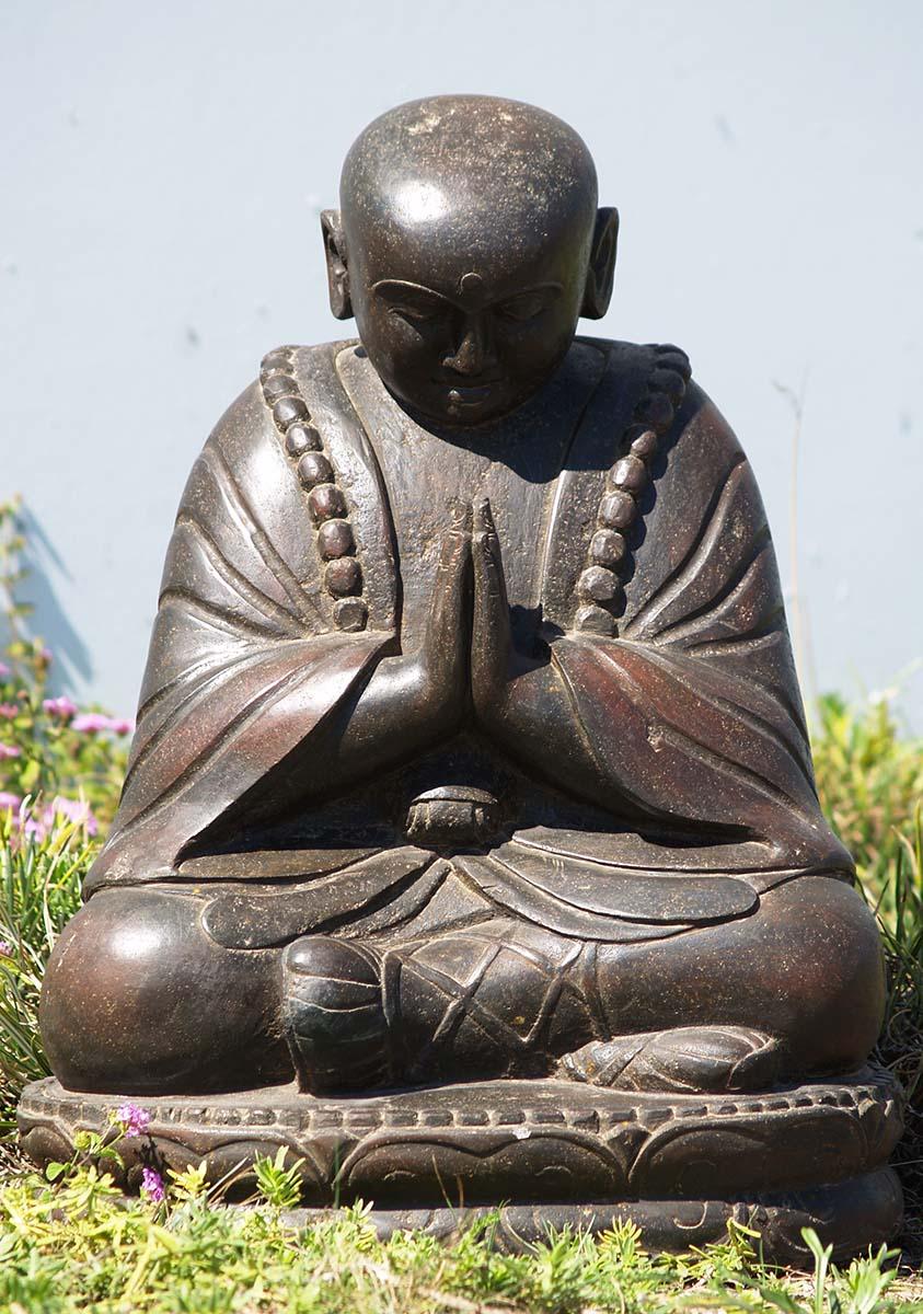 Sold Namaste Garden Buddha Sculpture 24 85ls151 Hindu Gods