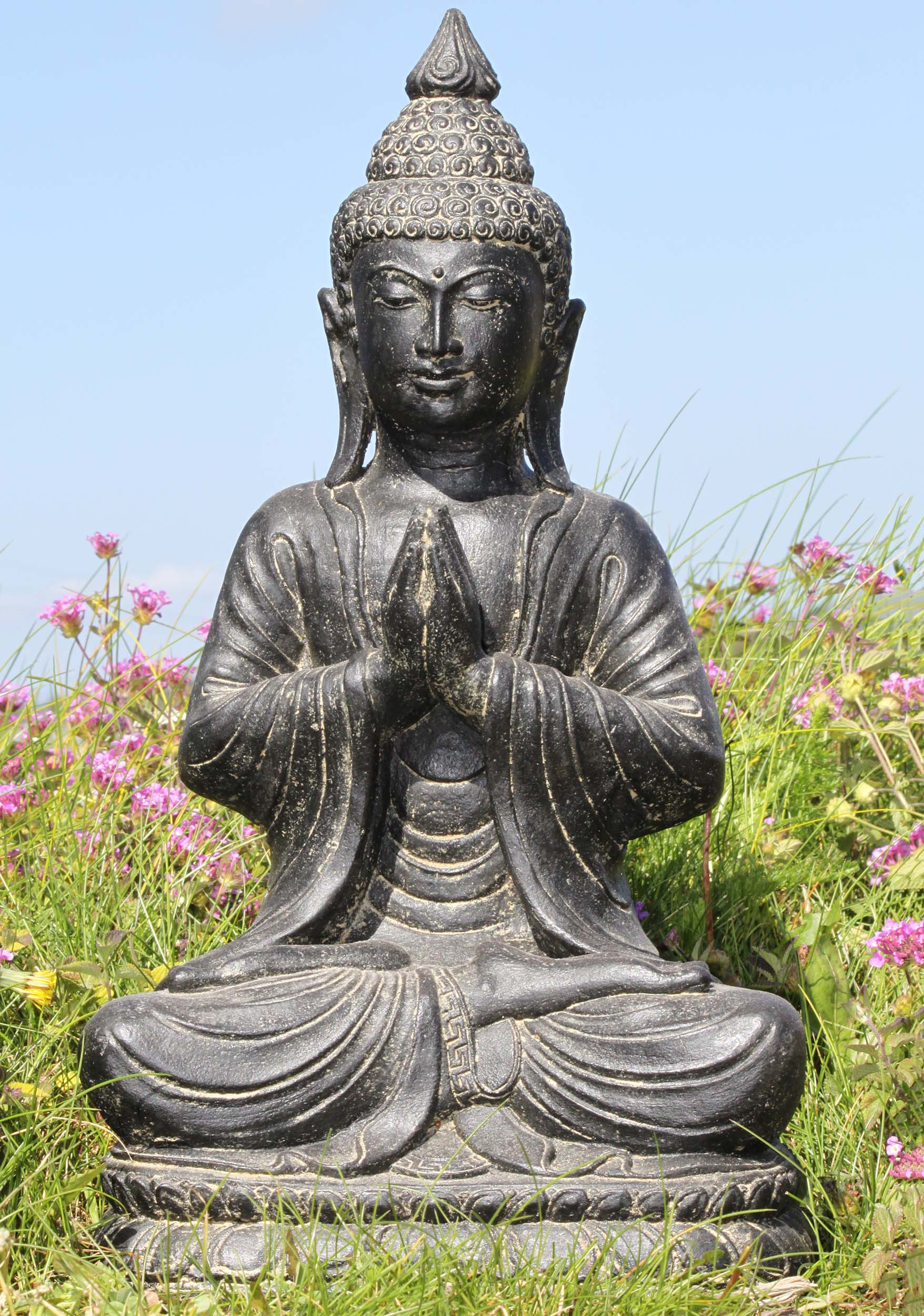 Preorder Namaste Garden Buddha Statue 18 83vc209z Hindu Gods