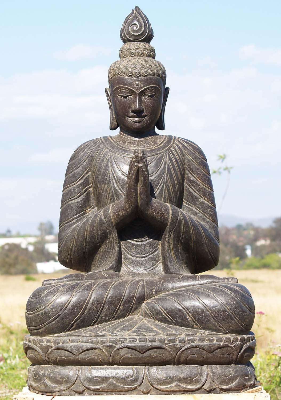 sold namaste garden buddha statue 43 83ls65 hindu. Black Bedroom Furniture Sets. Home Design Ideas