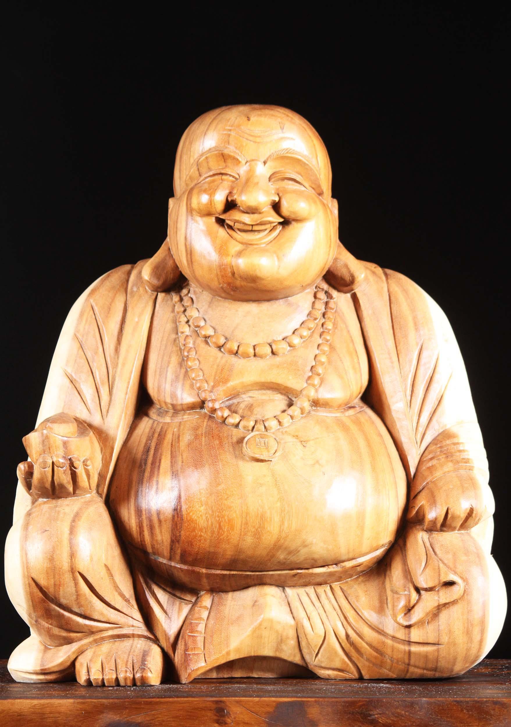 Wood Buddha Statues, Wooden Buddha Sculpture   Hindu Gods & Buddha ...