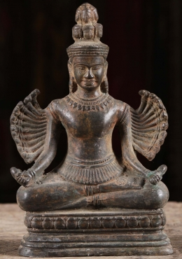 Seated Hevajra Statue with 22 Arms & 11 Faces 8