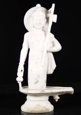 Marble Shiva Appearing from Lingam 30