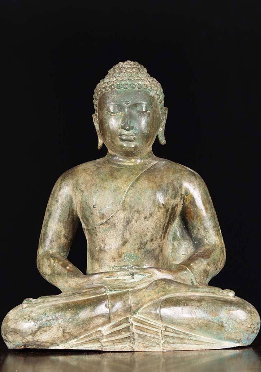 Meditating Sri Lankan Buddha Statue 24 Quot 83t15 Hindu