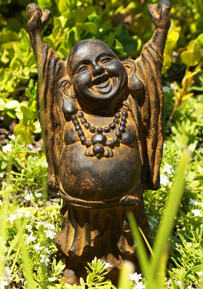 "Stone Buddha Laughing, Fat & Happy 12"" (#67vc7z): Hindu ..."