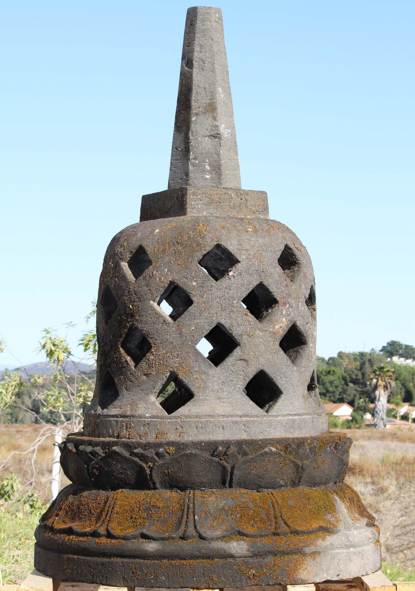 stone buddhist stupa 38quot 88ls231z hindu gods amp buddha