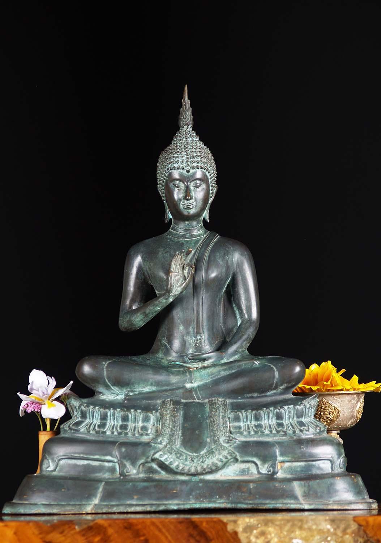 Sold Sukhothai Buddha Statue Vitarka Mudra 16 Quot 68t100