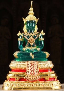 Thai Emerald Royal Buddha in Summer Robes 19