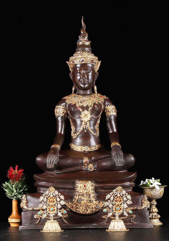 Sold Thai Ayutthaya Shamatha Meditation Buddha 24