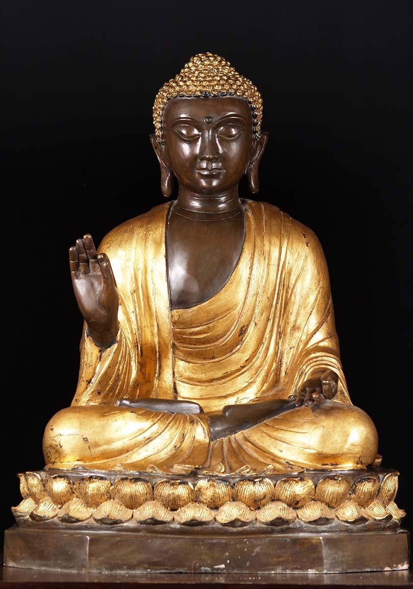 sold zen vitarka mudra buddha statue 36 55t16 hindu gods buddha statues. Black Bedroom Furniture Sets. Home Design Ideas