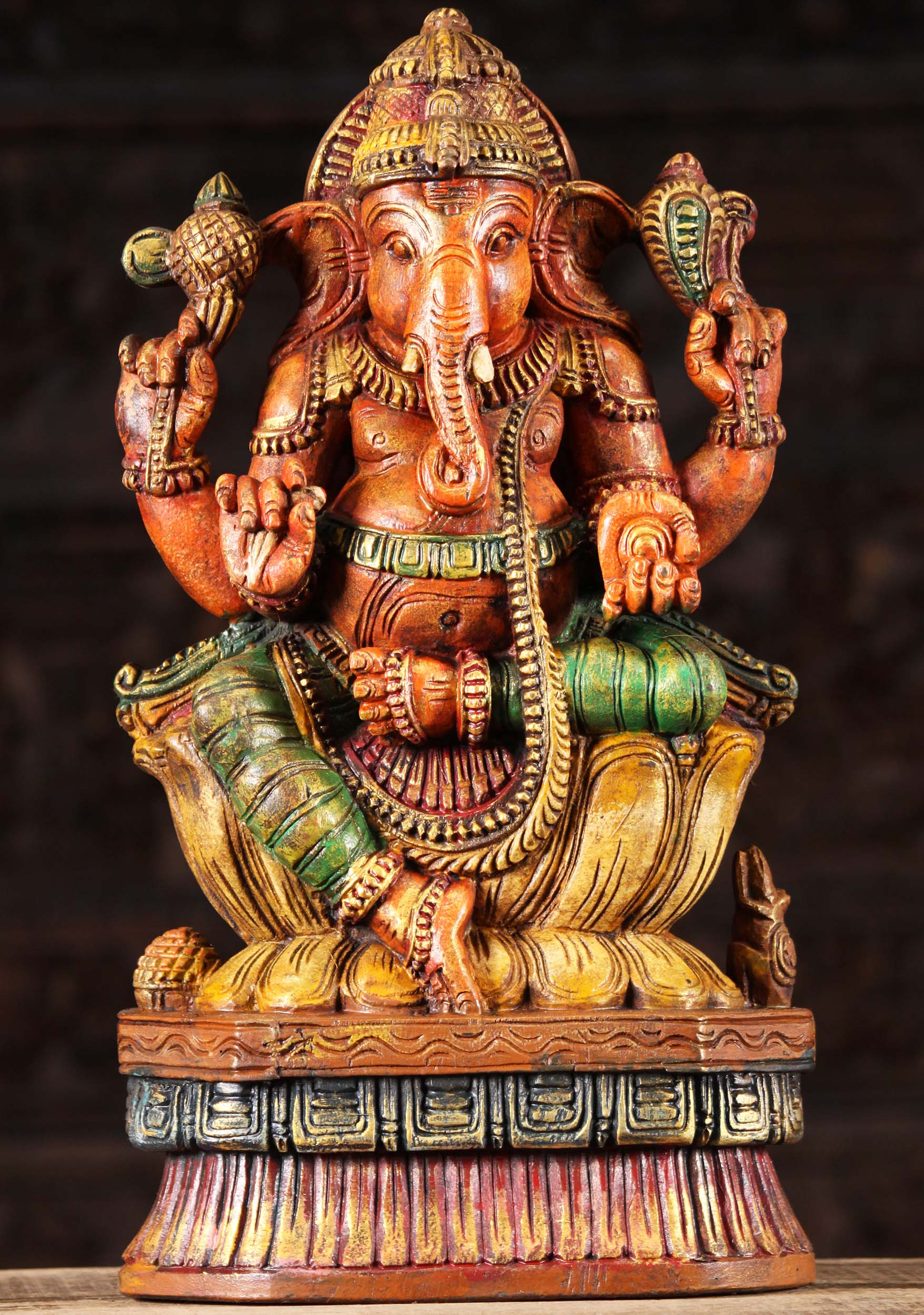 Small Ganesh Remover of Obstacles Statue Nepal