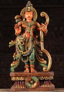The Warrior Prince Rama Model Resin 10/'/' Statue In Stock IN Myth Action Figure