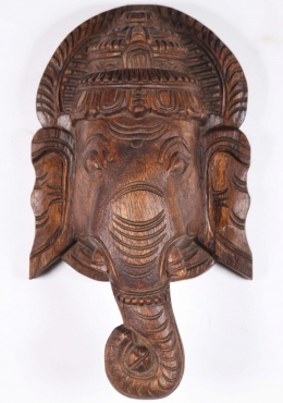 Wooden Wall Hanging of Lord Ganesha 12