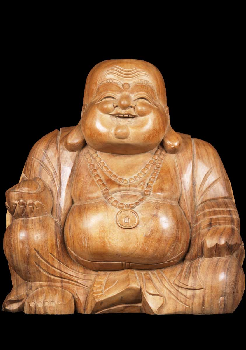 Sold Fat Amp Happy Buddha Of Wealth 20 Quot 1bw7a Hindu Gods