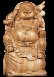 Joyous Buddha of Wealth Seated on Gold 25