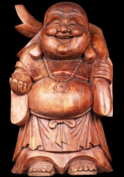 Fat Buddha with Gold Sack 16