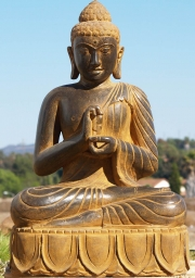 STATUE OF THE DAY Dharma Chakra Buddha 36