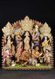 STATUE OF THE DAY Fantastic Durga Puja Statue 66