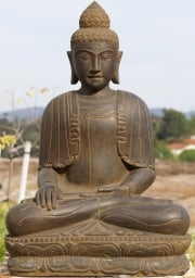 Stone Earth Touching Buddha 35