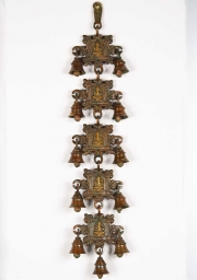 Brass 5 Ganesh Panels with 11 Bells 20