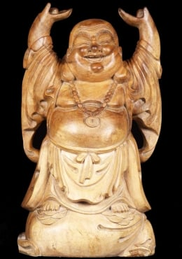 Fat, Happy Buddha of Wealth 24