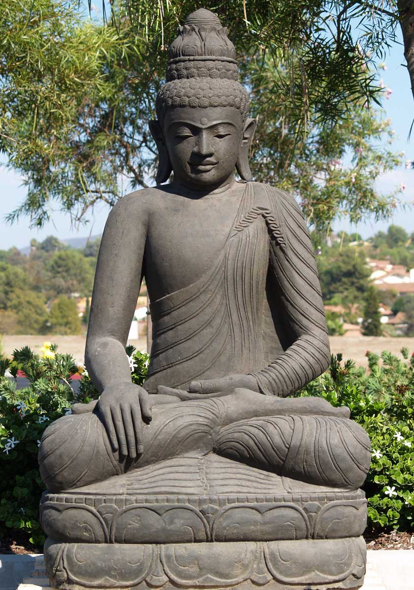 alf img showing buddha garden statues. Black Bedroom Furniture Sets. Home Design Ideas