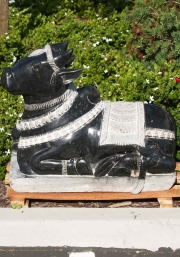 Polished Granite Nandi Sculpture 31