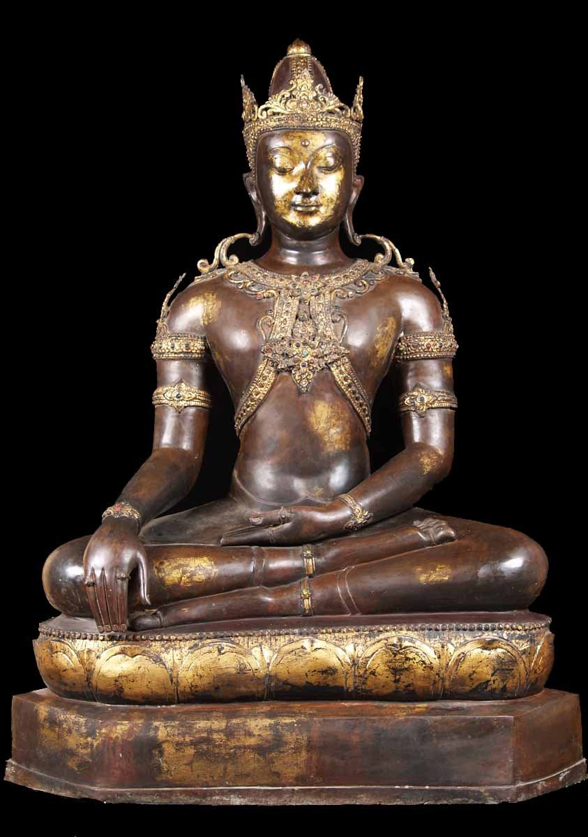 Sold Royal Thai Buddha Statue 46 Quot 68t3 Hindu Gods Amp Buddha Statues