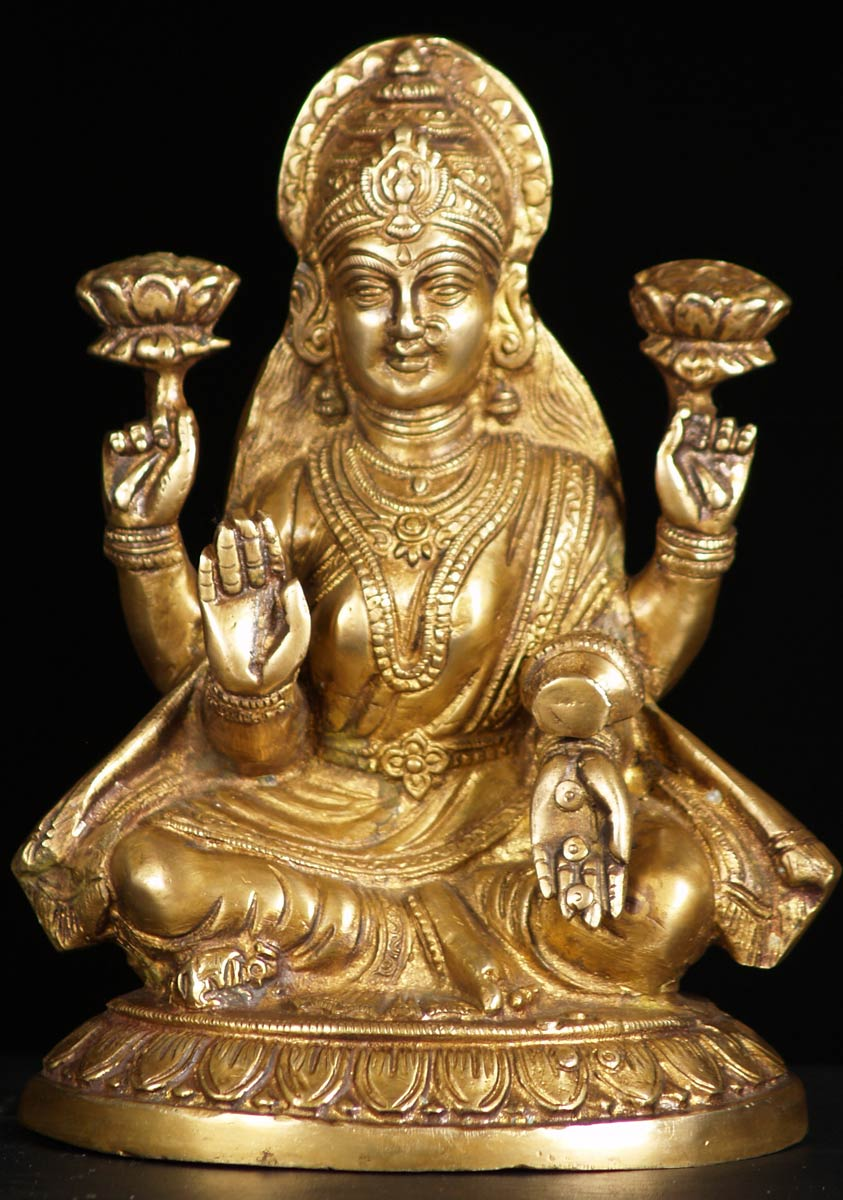 seated-lakshmi-statue jpgLakshmi Statue