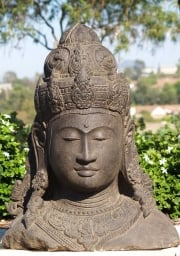 Stone Detailed Bust of Lord Shiva 36