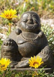 Stone Small Fat Happy Buddha 10