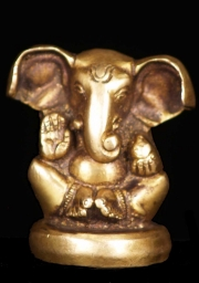 Adorable Baby Brass Ganesh 25