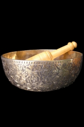 Bronze Singing Bowl 75