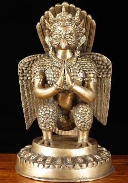 Brass Garuda, the Eagle King Statue 18
