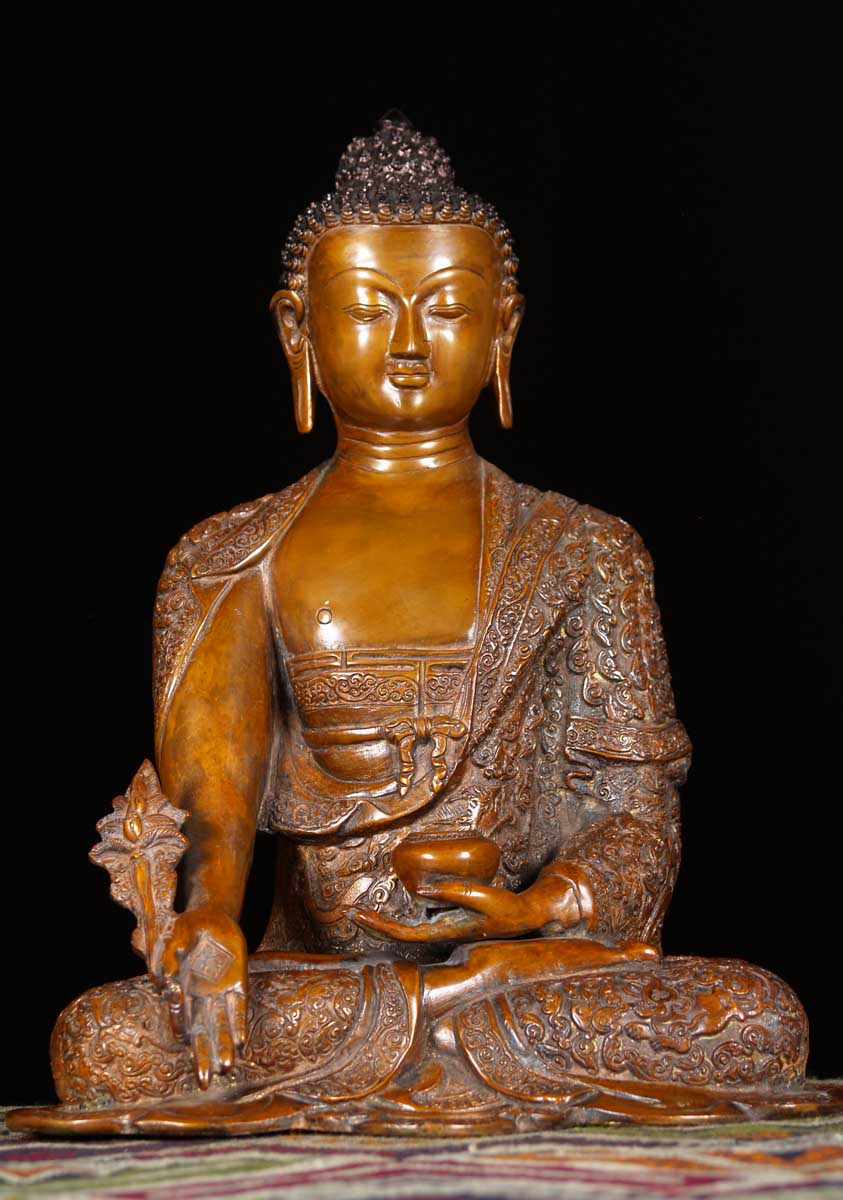SOLD Brass Buddha With...