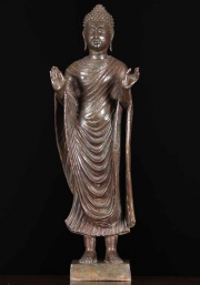Thai Brass Monday Buddha Statue 24