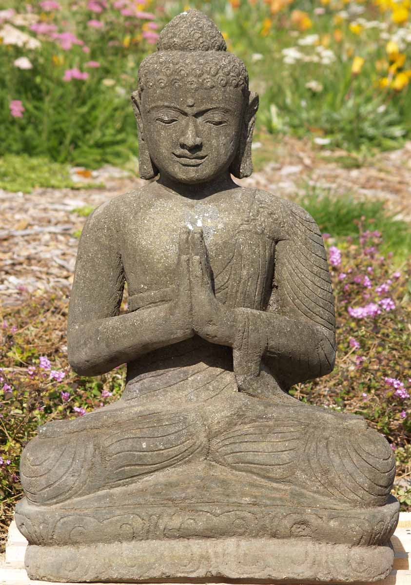 SOLD Buddha in Wai Hand Position 32 67ls20 Hindu Gods