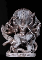 Vishnu Statue Riding Garuda 19