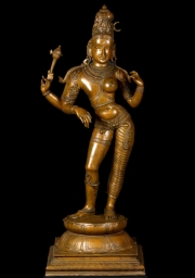 Androgynous Shiva as Ardhanari 42