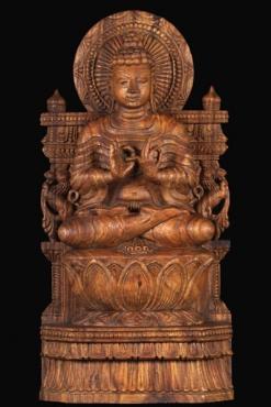Sold Hindu Wood Statues Hindu Gods Amp Buddha Statues