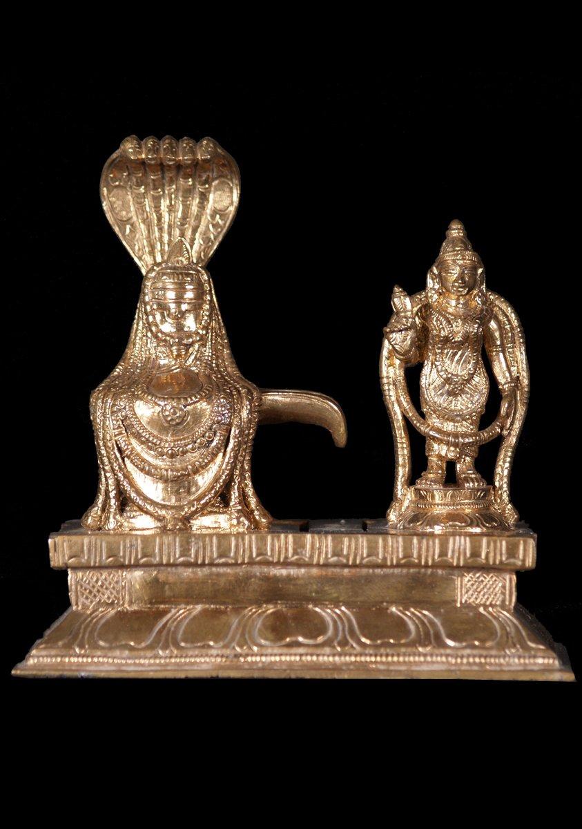 Lingam Statue Bronze Lingam & Pa...