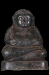 Fat Buddha Statue Holding His Belly 85