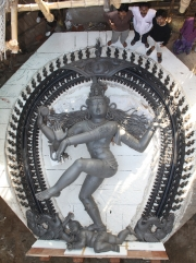 Wax Model for World Record 22 Nataraja
