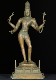 Bronze Shiva as Vinodhara 24