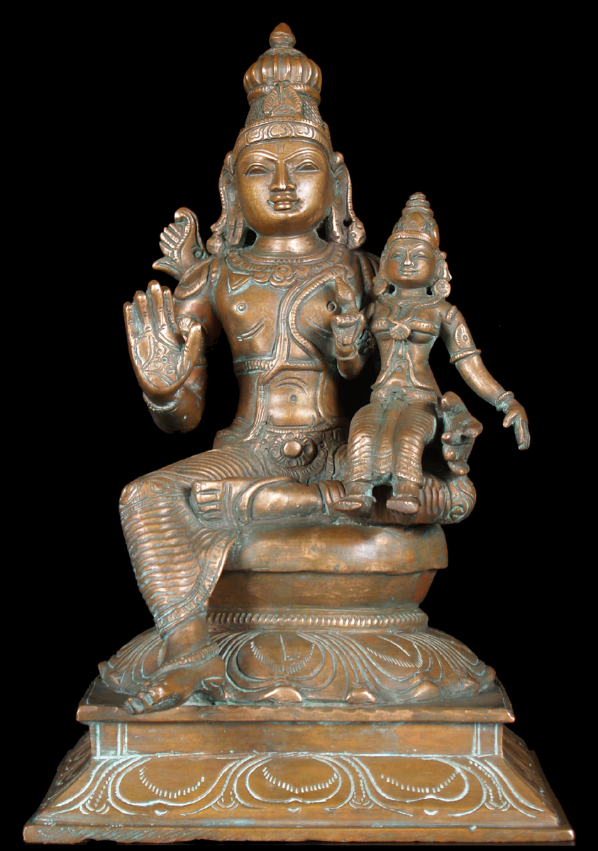 Sold Rama Statue With Sita Seated On Lap 10 Quot 51b59 Hindu Gods Amp Buddha Statues