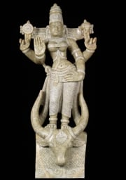 Vishnu Durgai with Buffalo Head Base 21