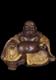 Brass Fat  Happy Buddha Statue 18