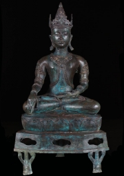 Brass Thai Royal Buddha Statue 34