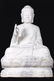 Marble Teaching Buddha Statue 36