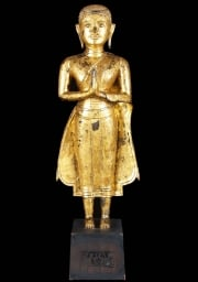 18th Century Antique Thai Buddha 34