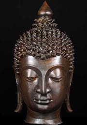 Large Chaing Saen Buddha Head 32